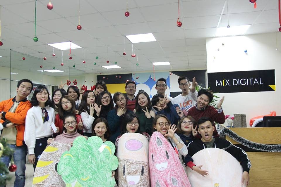Mix's Christmas Party 2017