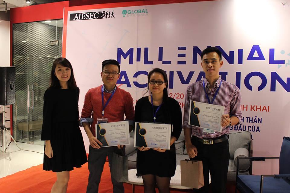Millenial Activation 2017